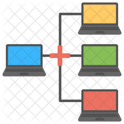 Network Server Logo Icon