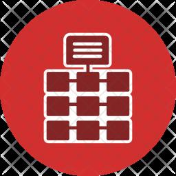 Network, Server, Data, Storage, Backup, Web, Connection Icon