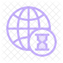 Network timeout Colored Outline Icon