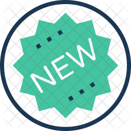 New Colored Outline Icon