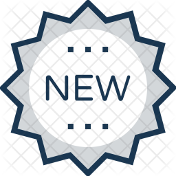 New Offer Colored Outline Icon