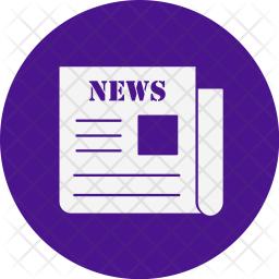 News Icon Of Glyph Style Available In Svg Png Eps Ai Icon Fonts
