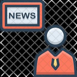News anchor Icon