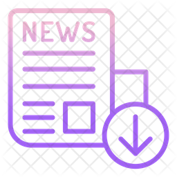 News Download Icon