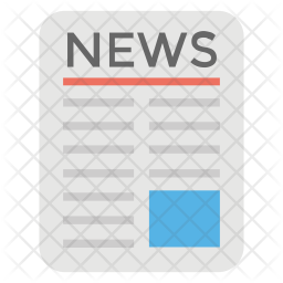 News Paper Logo Icon