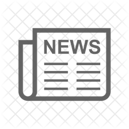 News Paper Line Icon