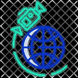 News Satellite Icon