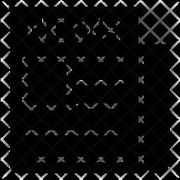 Newsletter Glyph Icon
