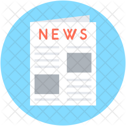 Newspaper Flat Icon