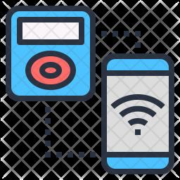 Nfc communication Icon