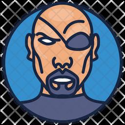 Nick Fury Icon