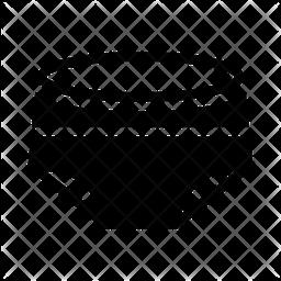 Nicker Glyph Icon