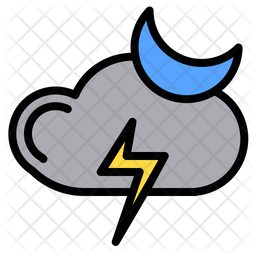 Night thunder Icon