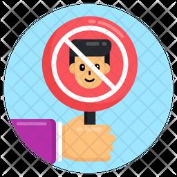 No Child Labour Icon