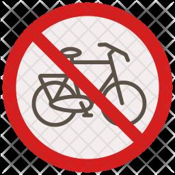 No cycling Icon