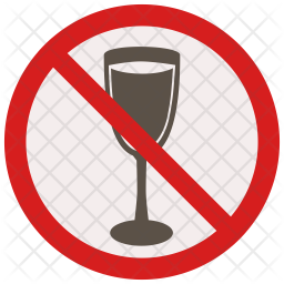 No drinking Icon