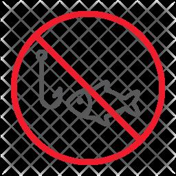 No fishing Icon