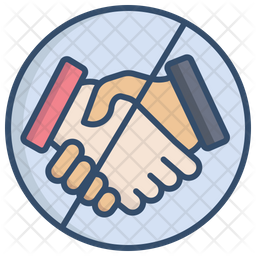 No Hand Shake Icon Of Colored Outline Style Available In Svg Png Eps Ai Icon Fonts Pngkit selects 121 hd shake hand png images for free download. no hand shake icon
