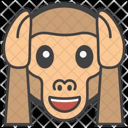 No Hear Monkey Icon