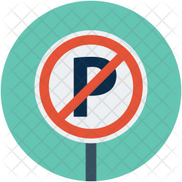 No park sign Icon