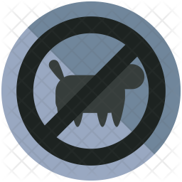 No pet allowed Icon