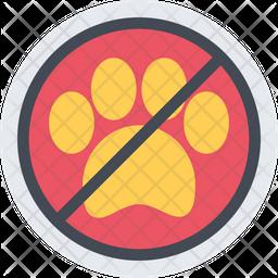 No Pets Icon