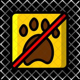 No Pets Allowed Icon