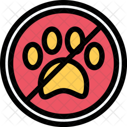 No, Pets, Pet, Animal, Vet, Store, Zoo Icon