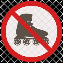 No skating Icon