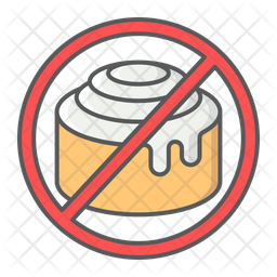 No Sweet Icon