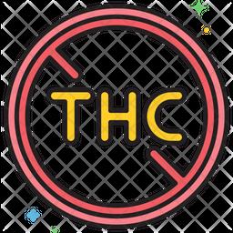No Thc Icon