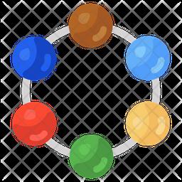 Nodes Connection Icon