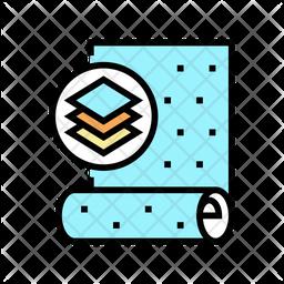 Non Woven Wallpapaer Icon
