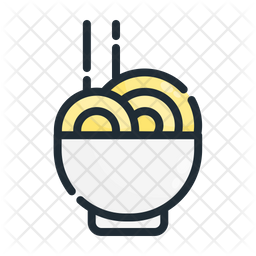 Noodle Bowl Icon