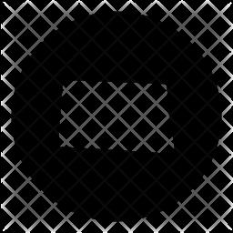 North Glyph Icon