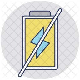 Not Charge Icon
