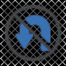 Notallowed U Trun Icon