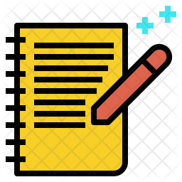 Note Icon Of Colored Outline Style Available In Svg Png Eps Ai Icon Fonts