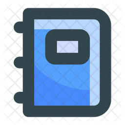 Notebook Icon Of Colored Outline Style Available In Svg Png Eps Ai Icon Fonts