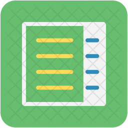 Notebook Icon Of Flat Style Available In Svg Png Eps Ai Icon Fonts