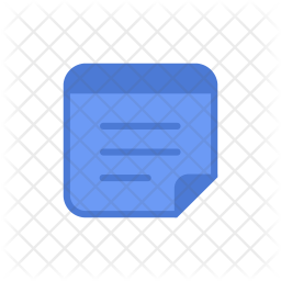 Notepad Colored Outline Icon