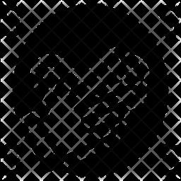 Notoriety Glyph Icon