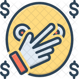 Notoriety Colored Outline Icon