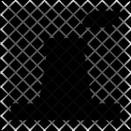 Nuclear Glyph Icon