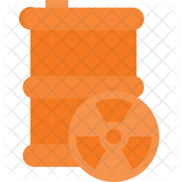 Nuclear wastage Icon