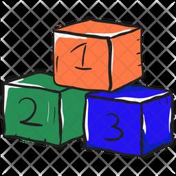 Number Blocks Icon