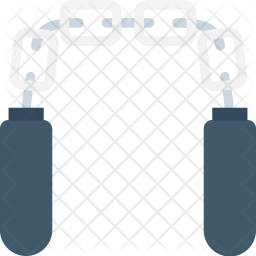 Nunchaku Icon Of Flat Style Available In Svg Png Eps Ai Icon Fonts
