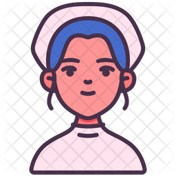 Nurse Icon Of Colored Outline Style Available In Svg Png Eps Ai Icon Fonts