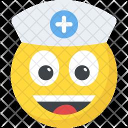 Nurse Emoticon Icon