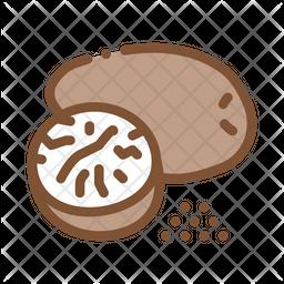 Nutmeg Icon